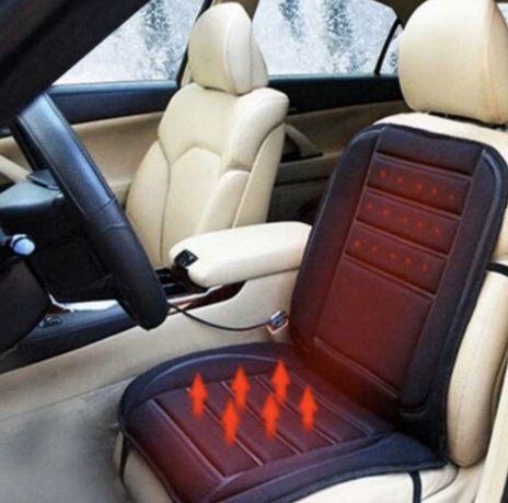 Подгряваща постелка подгряване за кола джип бус 12V към запалката