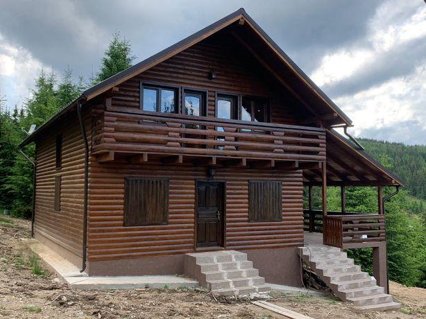 Vând casă de locuit pe structură de lemn