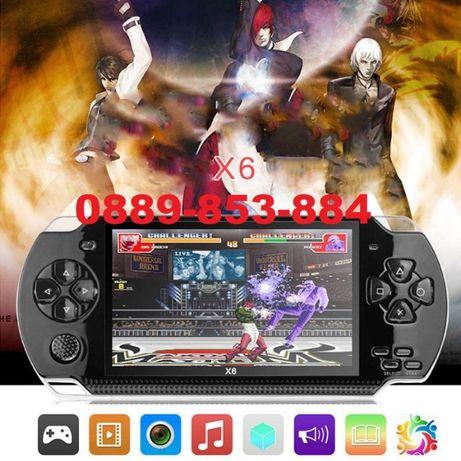 ТОП Игрова конзола с 10000 игри тип PSP Nintendo Sega ТВ игра подарък
