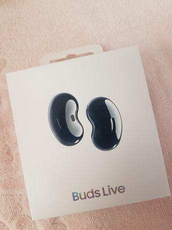 Samsung buds live новые черные, есть 2 набора