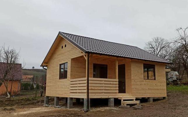 Vand cabane din lemn de cea mai bună calitate