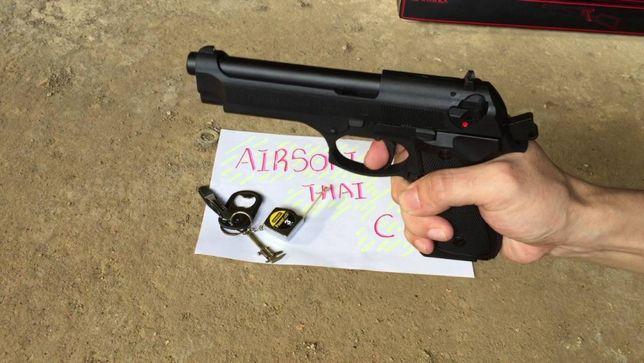 SUPER PISTOL-MODIFICAT Full Metal Airsoft Aer Comprimat Beretta/Taurus