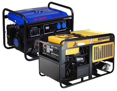 Ремонт дизельных и бензиновых генераторов, электростанций гарантия