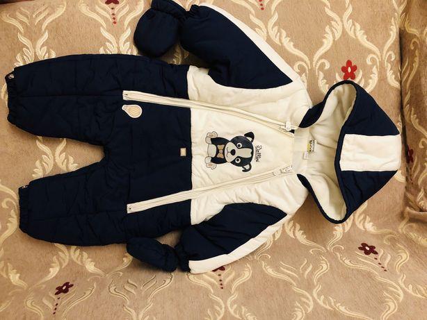 Зимний Комбинезон + Весенняя Куртка в подарок