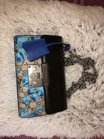 Sale Gucci padlock shoulder bag Дамска кожена черна чанта 1:1 с моделa