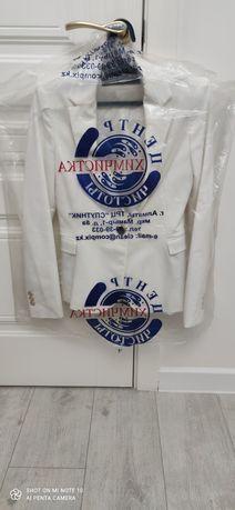 Белый пиджак,  Only офисное платье