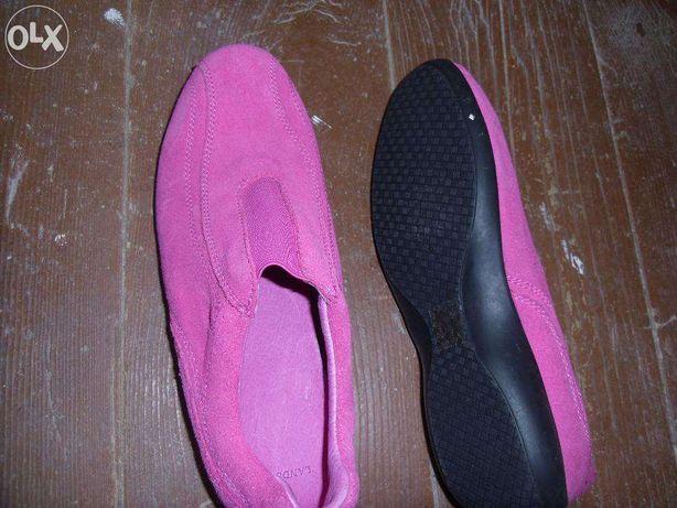 pantofi-adidas din piele naturala