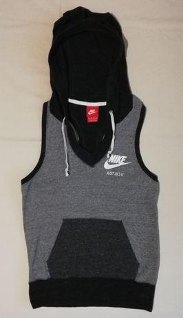 Nike Gym Vintage Hoodie оригинално горнище XS Найк спорт горница елек