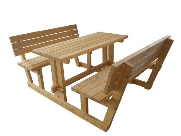 Masa de picnic cu bancute