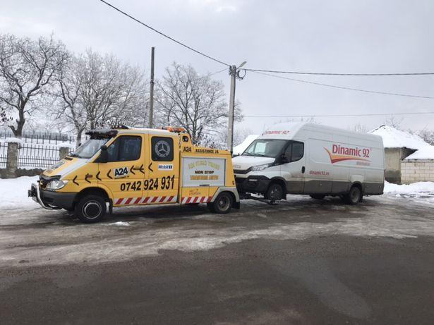 Tractari auto și transport utilaje