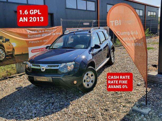 Dacia Duster 1.6 an 2013 E5 benzina +GPL cash rate