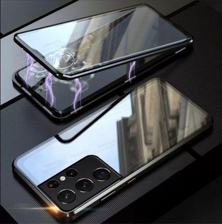 Двоен Магнитен Кейс за Samsung Galaxy S21+ / S21 Ultra 360 Градуса