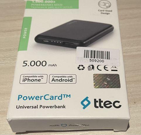 Преносима батерия ttec за смартфони, нова