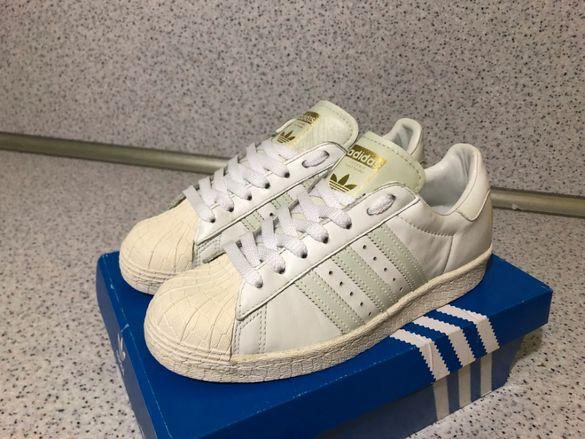 ОРИГИНАЛНИ *** Adidas Originals SuperStar Cream & White