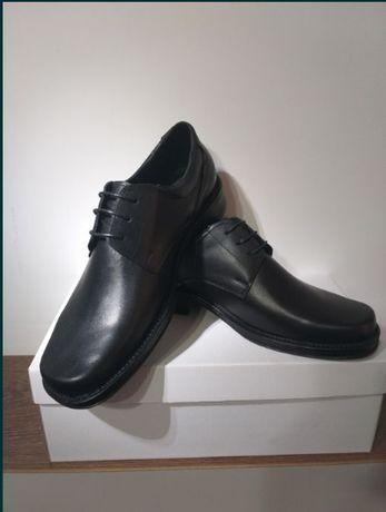 Pantofi UNIFORMA M.A.I. Piele Naturala