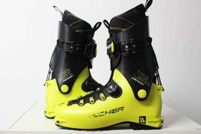 Clapar ski/schi/schiuri de tura Fischer Travers Carbon nr 45,5