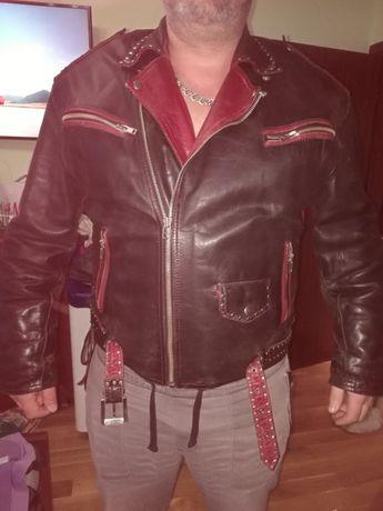 Мъжко поръчково рокерско яке