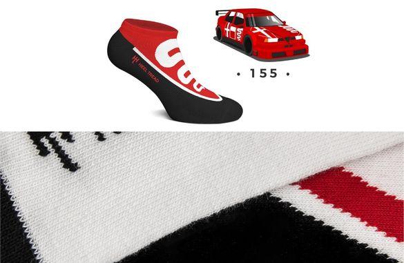 Чорапи, вдъхновени от емблематични коли BMW M, Golf GTI, Audi Quattro