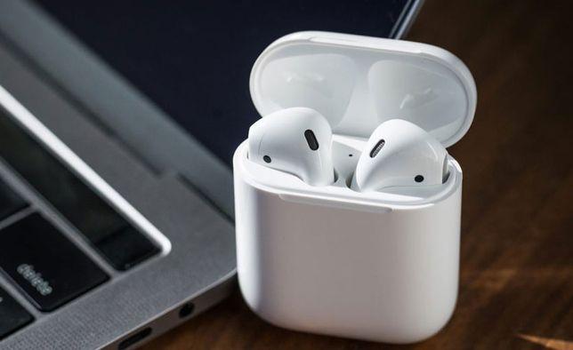 +Подарок. Apple AirPods 2 1:1 Беспроводные Наушники аирподс аир