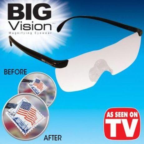 TV Shop Оригинал Big Vision Очила-увеличават образа с 160 процента