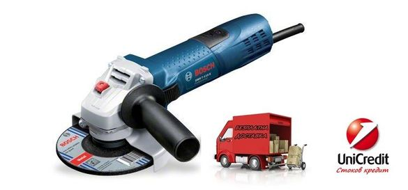 Ъглошлайф GWS 7-115 E Bosch
