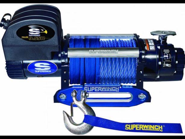 Troliu SUPERWINCH TALON 9.5 SR cablu sintetic - 12V