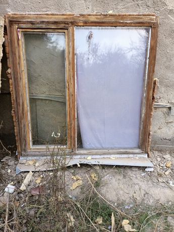 Деревянные окна б/у