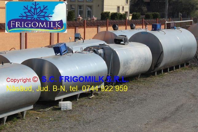 Tanc lapte , bazin inox rezervor 250-20000 l bazin lapte utilaj LAPTE