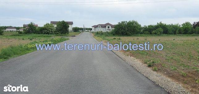 Teren Balotesti,utilitati apropiere,880mp,16000 Euro