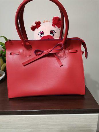 Дамски чанти, естествена кожа
