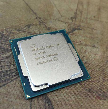 Процессоры Intel Core i5-9500. 4 штук