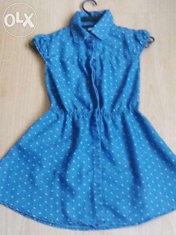 Детска дънкова рокличка