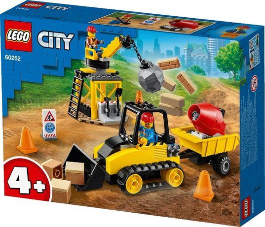 LEGO 60252 City Great Vehicles Строительный бульдозер новый !