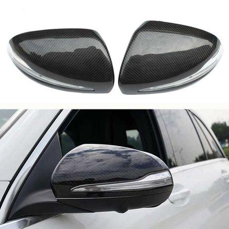 Карбонови капаци за огледала за Mercedes W205, W213, W222, W253