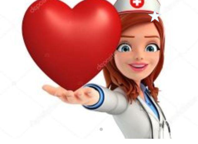 Опытная медсестра со стажем делает все медицинские инъекций