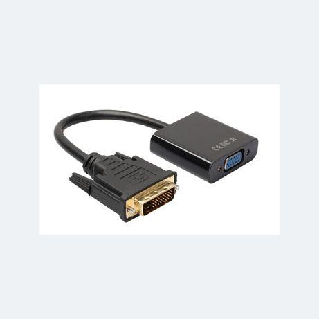DVI 24+1 — VGA адаптер конвертер переходник 1080P на новую видеокарту