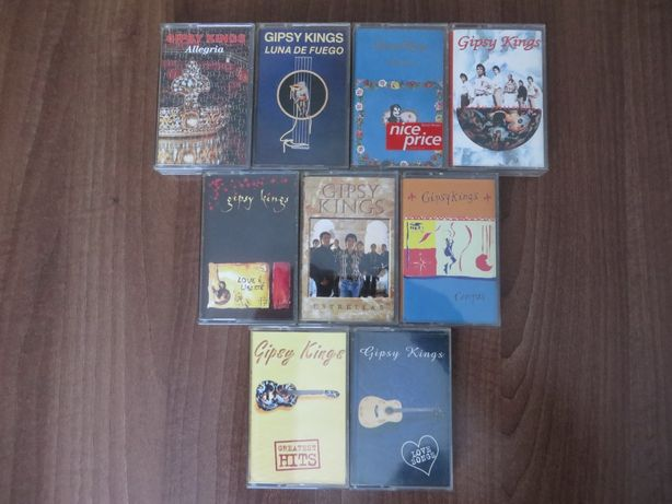 Casete audio originale albume si compilatii Gipsy Kings