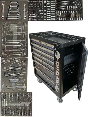 Шкаф количка за инструменти немски с 6 пълни чекмеджета