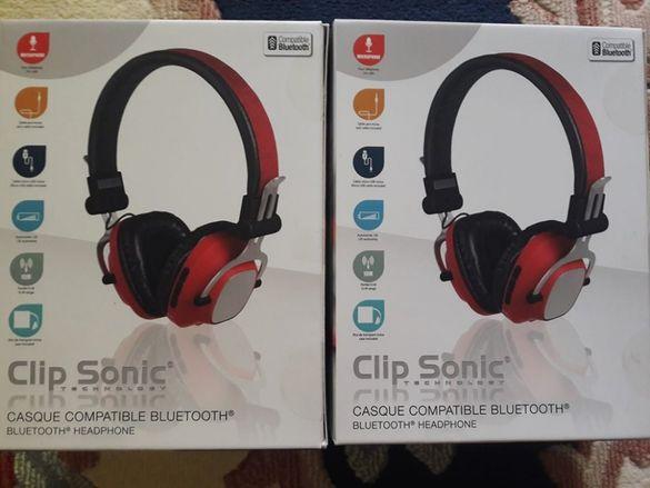 Безжични Bluetooth слушалки Clip Sonic