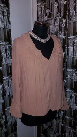 Bluza ZARA deosebita cu maneci clopot, stil vintage