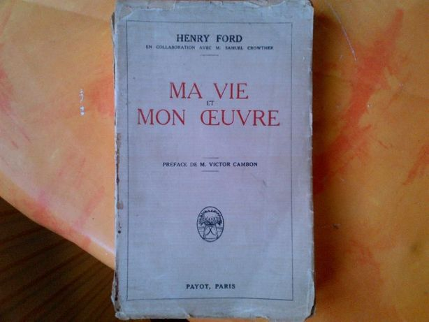 Henry Ford editie 1926 (in franceza)