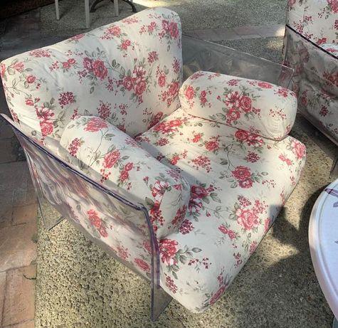 Дизайнерски градински фотьойли с възглавници