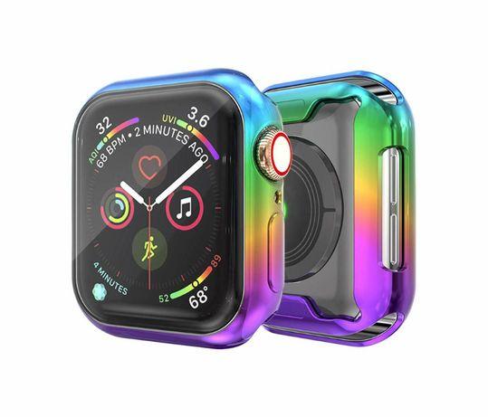 360 силиконов кейс Ombre за Apple watch 38mm, 40mm, 42mm, 44mm