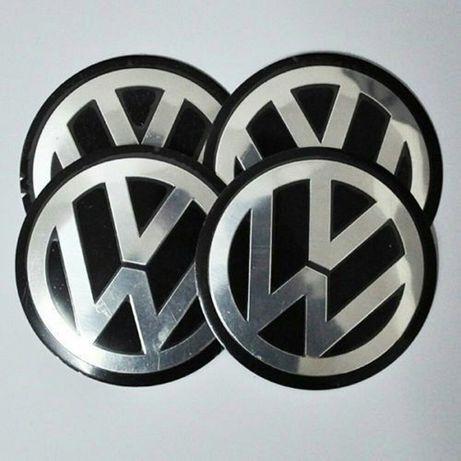 VW,Seat - Set 4 embleme pentru capace jante