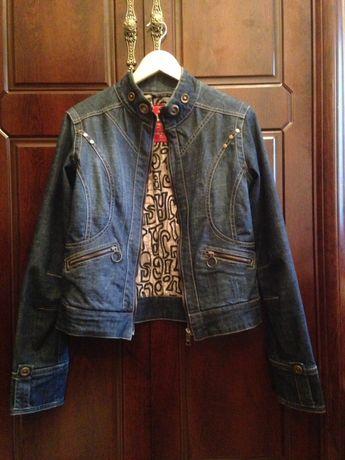 Женская джинсовая куртка Lola Bianca, размер 48