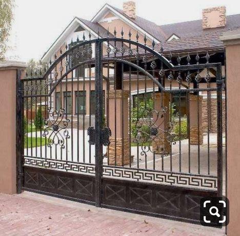 Желязни врати ,парапети ,огради, желязни конструкции