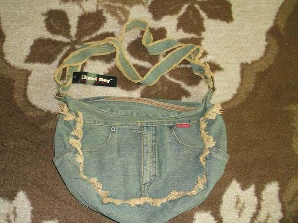 Geanta DANIEL RAY din jeans