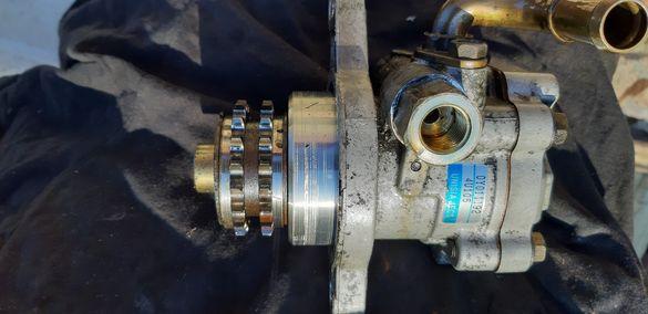 Хидравлична помпа на Нисан с двигател 2.2DI без луфт и теч