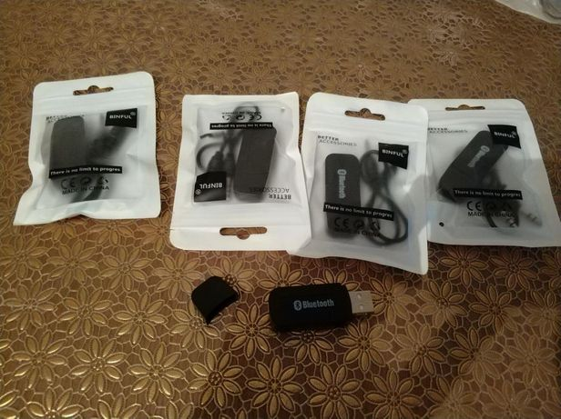 USB AUX блютуз  адаптер bluetooth music receiver 3.5 мм стерео ауди