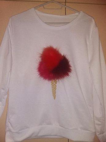 Ефектна нова блуза с дълъг ръкав